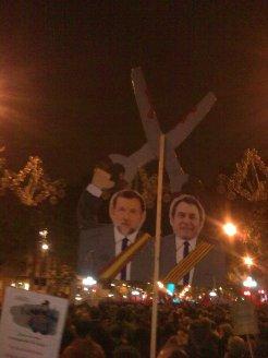 #14N in Barcelona centre, Nov 14, 2012, 6.30pam | Photo Birgit Wolf
